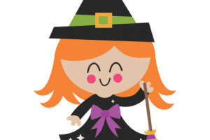 Cute witch clipart 2 » Clipart Station.