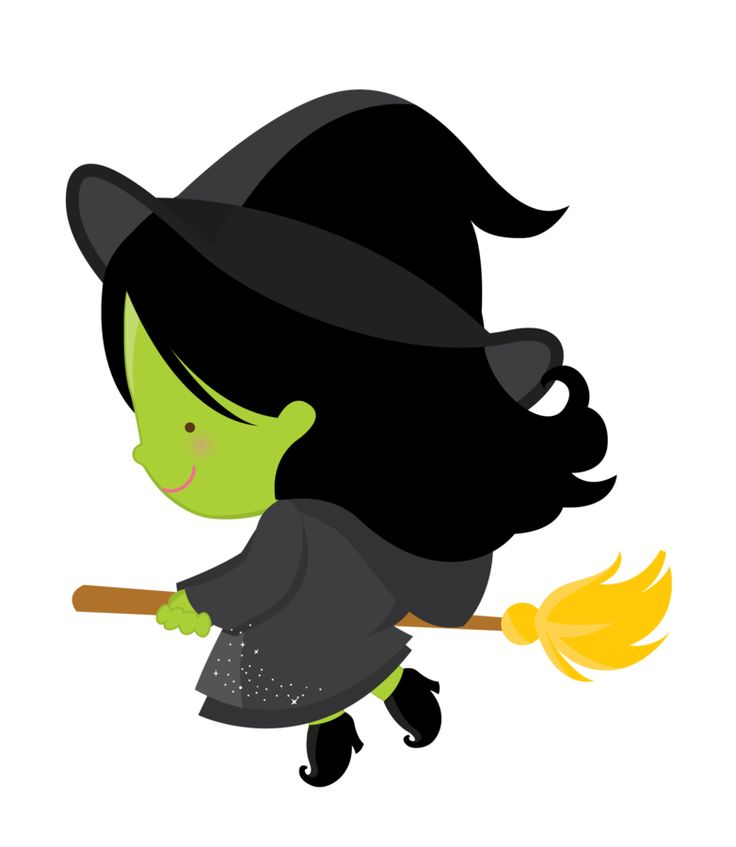 Cute Witch Clipart.