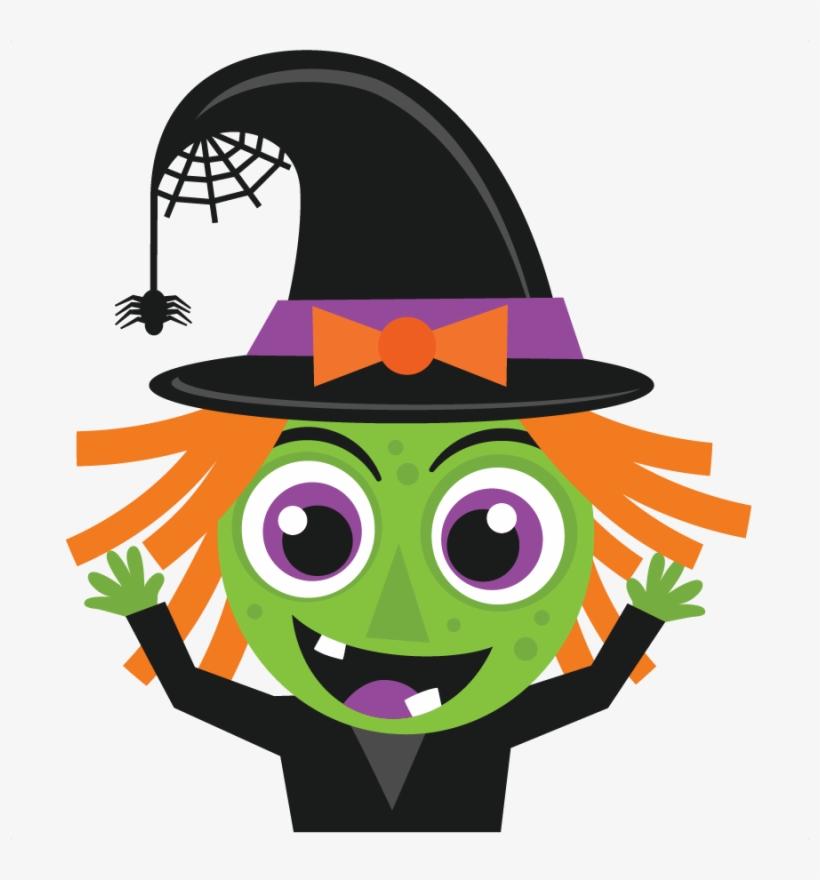 Halloween Witch Svg Scrapbook Cut File Cute Clipart.