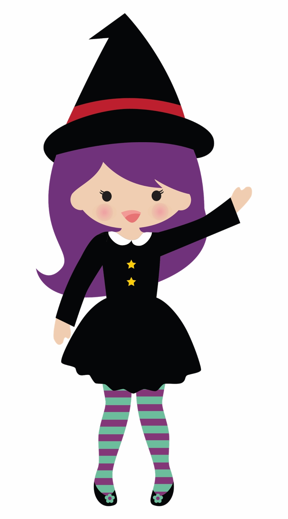 Cute Witch Clipart Free PNG Images & Cli #472286.