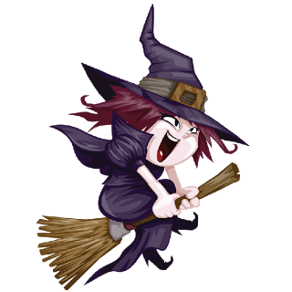 Cute Witches.