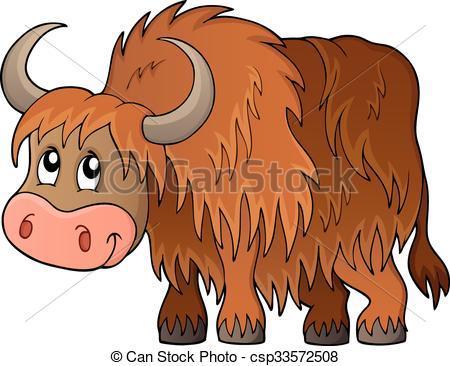 Cute yak clipart 5 » Clipart Portal.