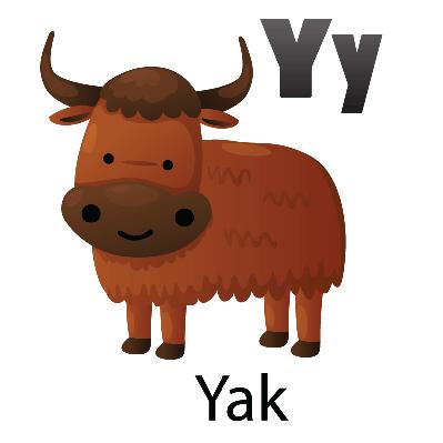 Cute Yak Clipart.