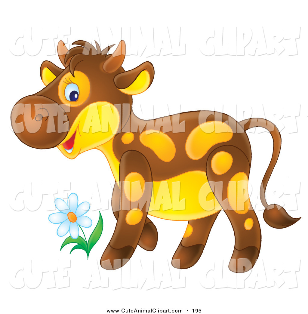 cute yellow animal clipart #2