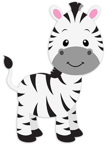cute zebra illustration.