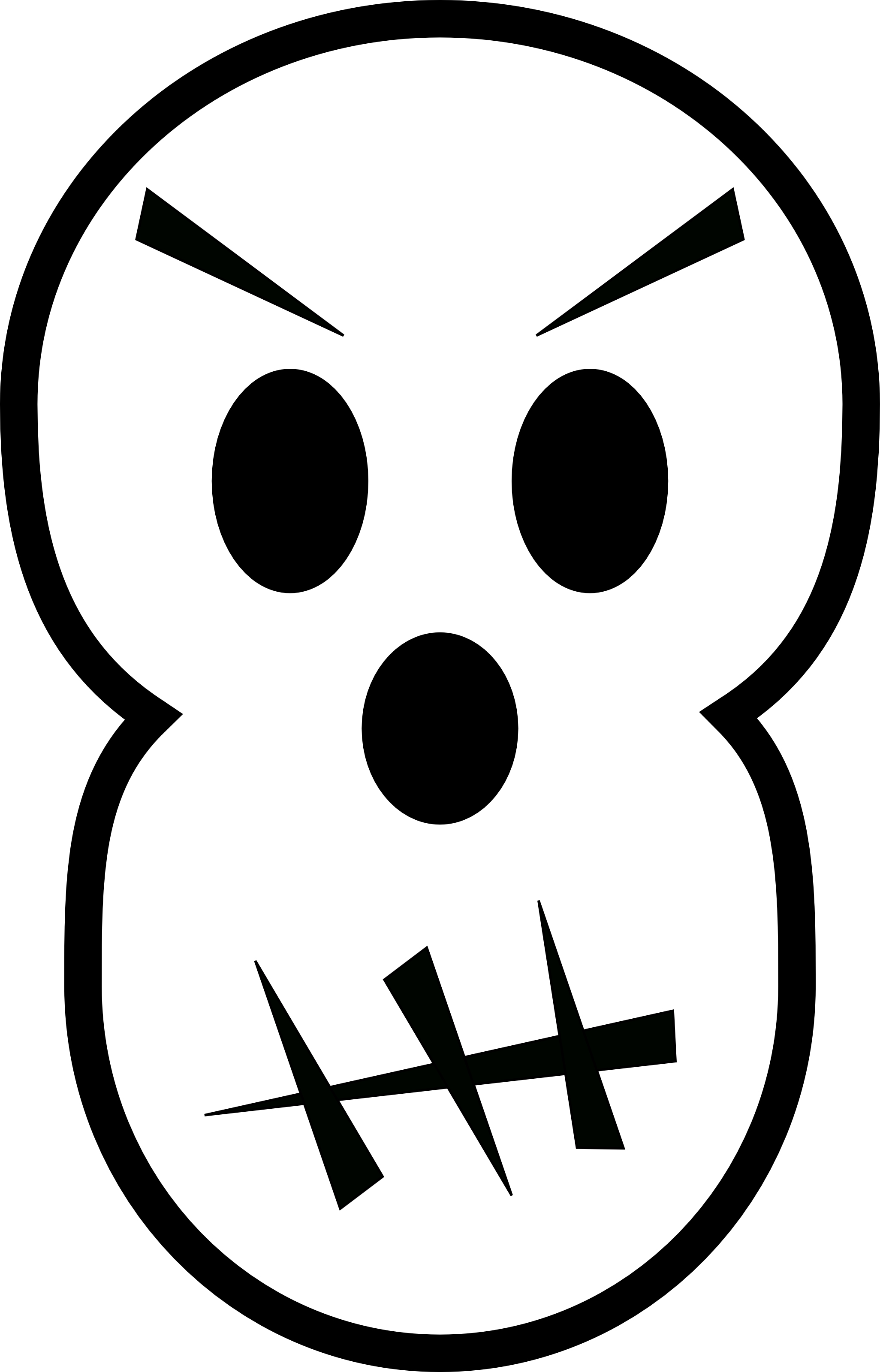 Cute kid zombie clipart black and white.