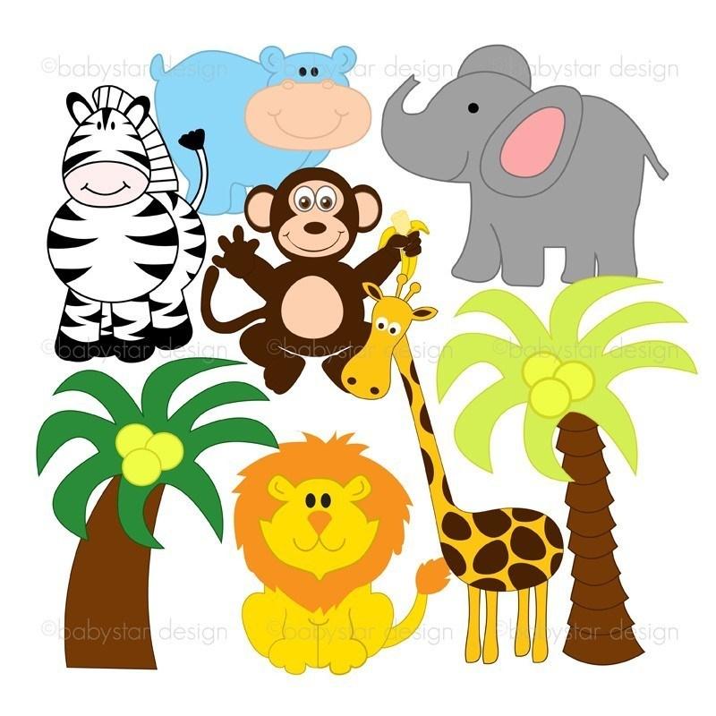 Cute zoo clipart 5 » Clipart Portal.