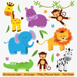 Free Cute Zoo Animals Clipart Cliparts, Silhouettes, Cartoons Free.
