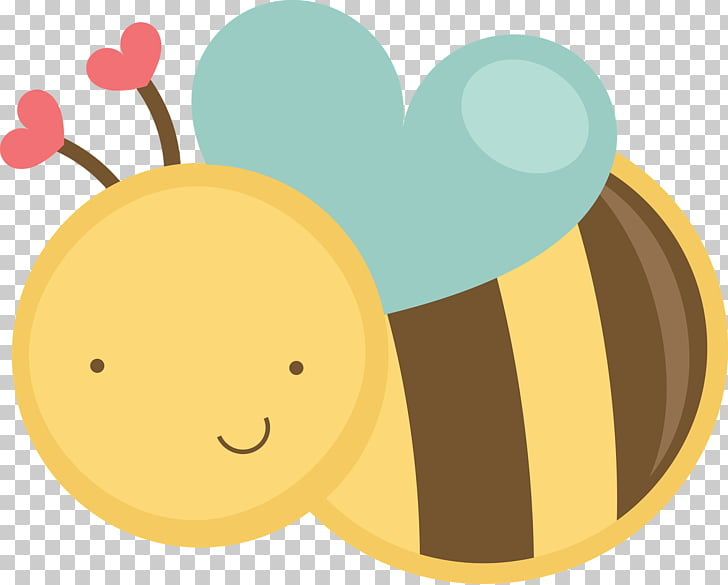 Bumblebee Cuteness , cute PNG clipart.