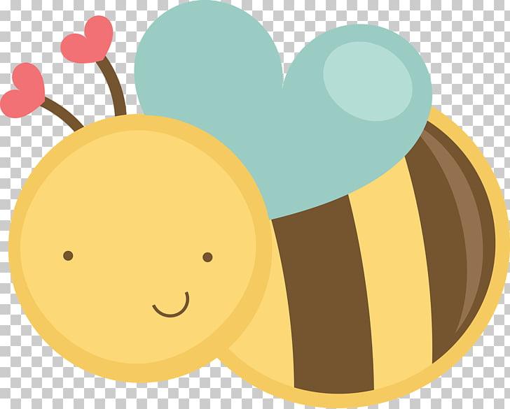 Bumblebee Cuteness , cute PNG clipart.