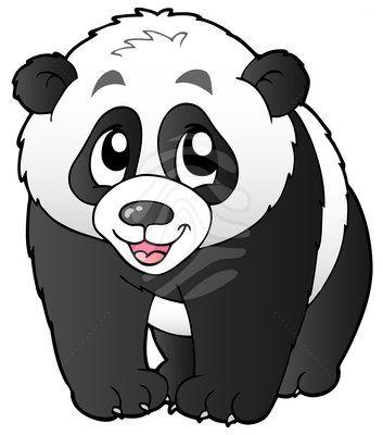 Cute small panda.
