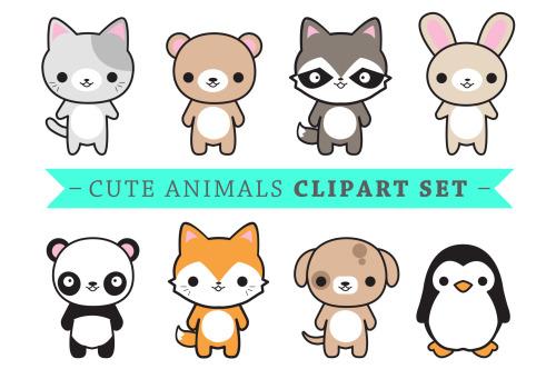 Kawaii Clip Art.