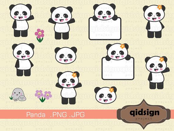 qidsign project: Panda Clip Art.