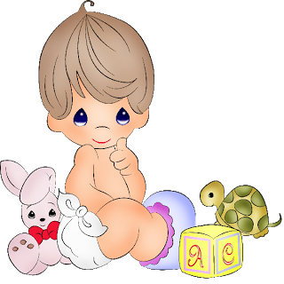 Cute Baby Clipart Boy And Girl.