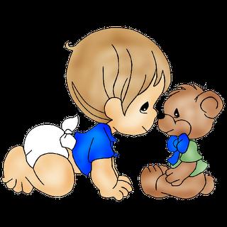 Cute Baby Boy Clipart.