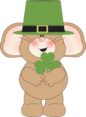Cutest patricks day clipart.
