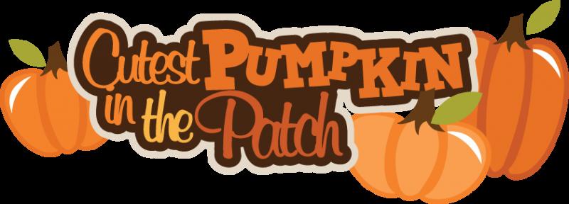 Cute Pumpkin Patch Clipart.