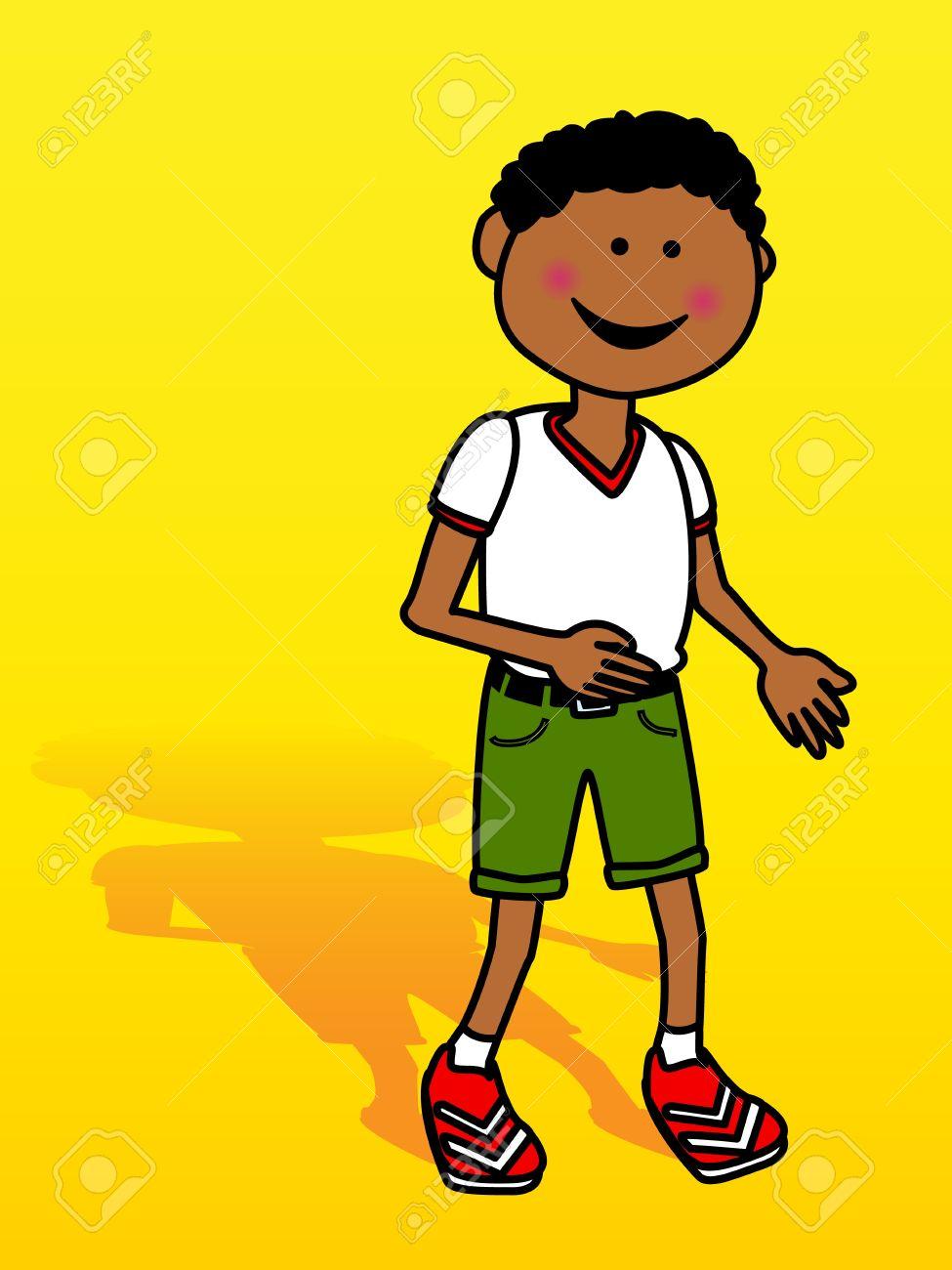 Little Black Boy Clipart Images.