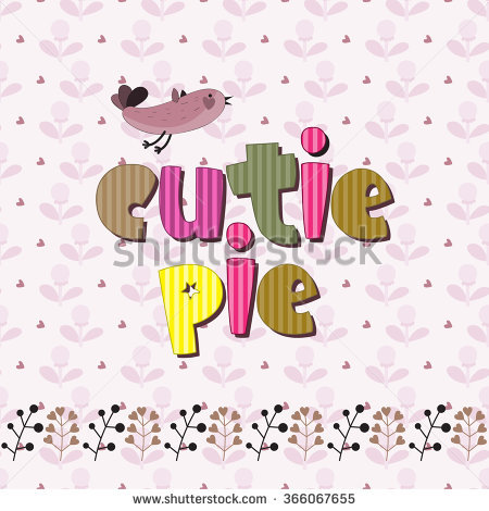 Cutie Pie Stock Images, Royalty.