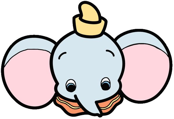 Disney cuties clipart dumbo.