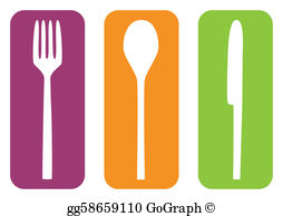 Cutlery Clip Art.