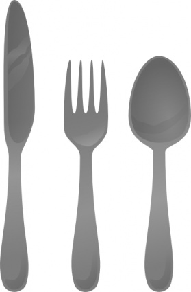 Cutlery Clip Art, Vector Cutlery.