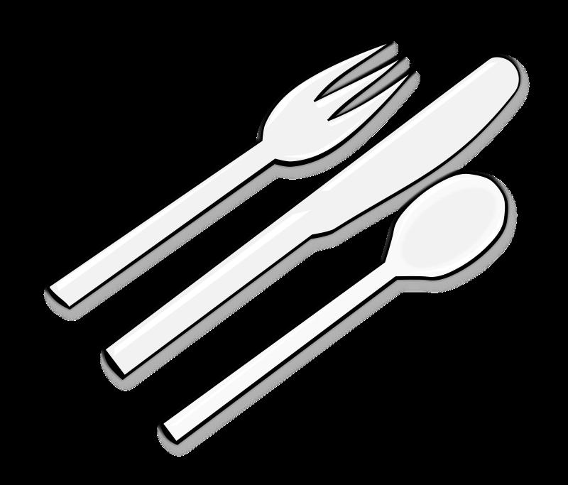 Cutlery Clipart.