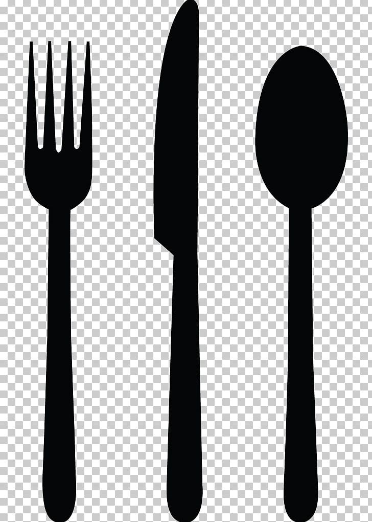 Knife Fork Spoon Cutlery PNG, Clipart, Black And White, Cutlery.
