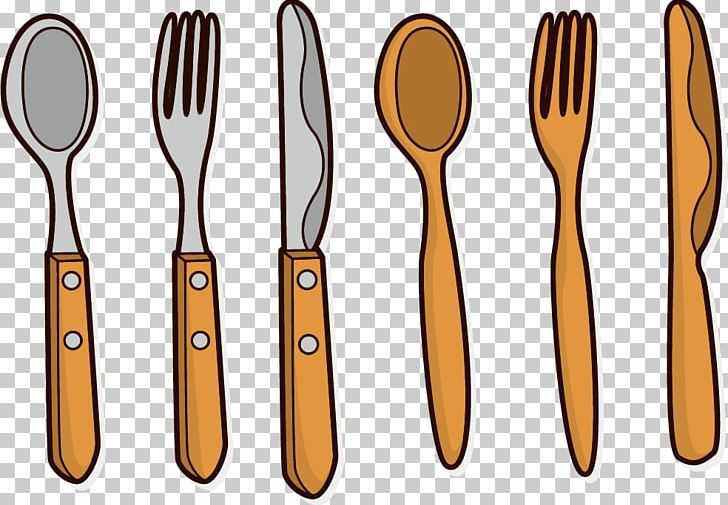 Wooden Spoon Knife Fork PNG, Clipart, Animation, Cross, Cutlery.