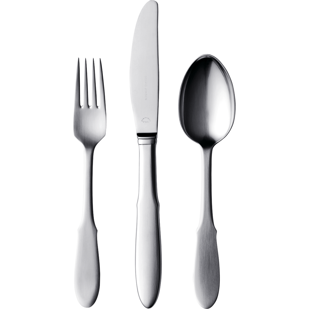 Knife Fork Spoon transparent PNG.