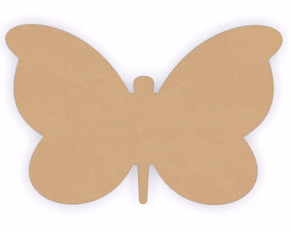 Butterfly Cut Out Clipart.
