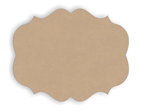 plaque template clipart.
