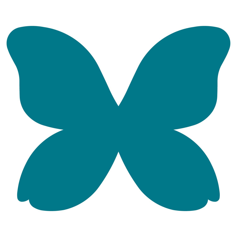 Butterfly shape clipart.