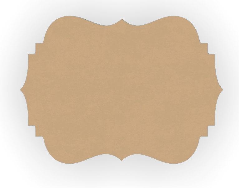 Fleur De Lis Wood Craft Cutout Shape 6 to 12 by WoodCraftCutouts.