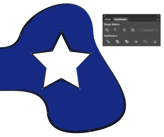 Illustrator How to Cut a Shape.
