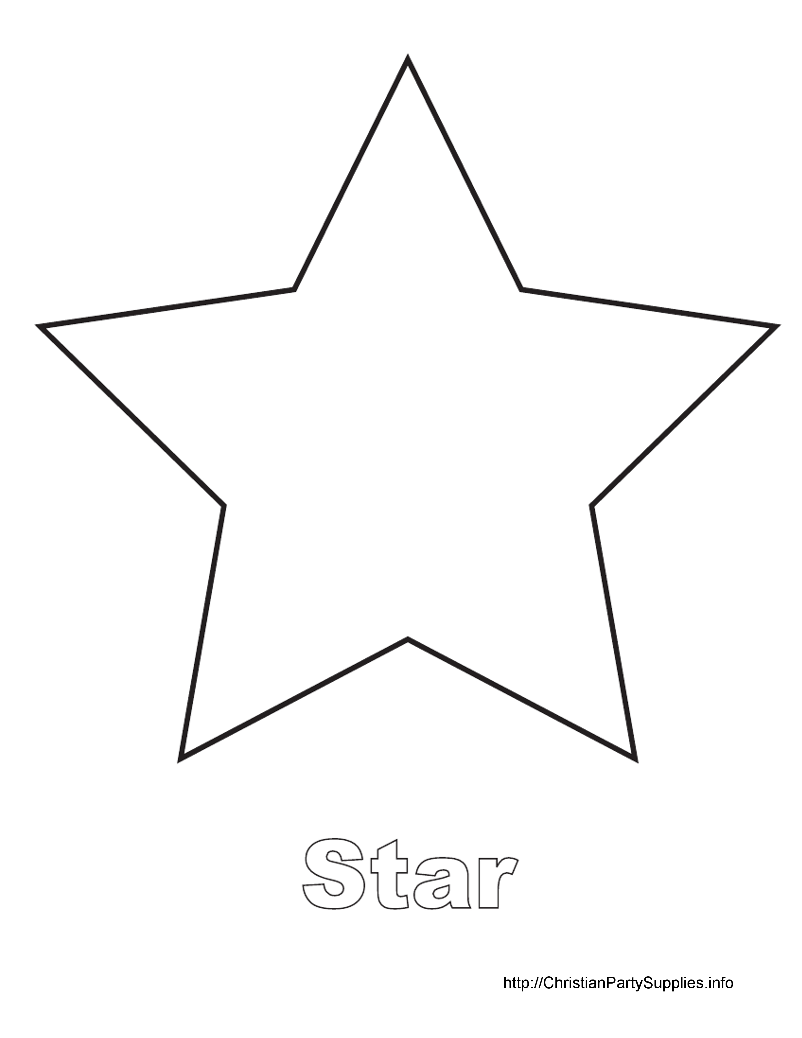 Star out of paper clipart clipground for Paper cut out art templates