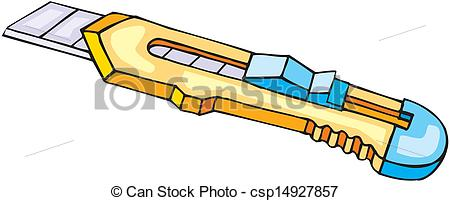 Clipart Vector of Cutter, illustration.