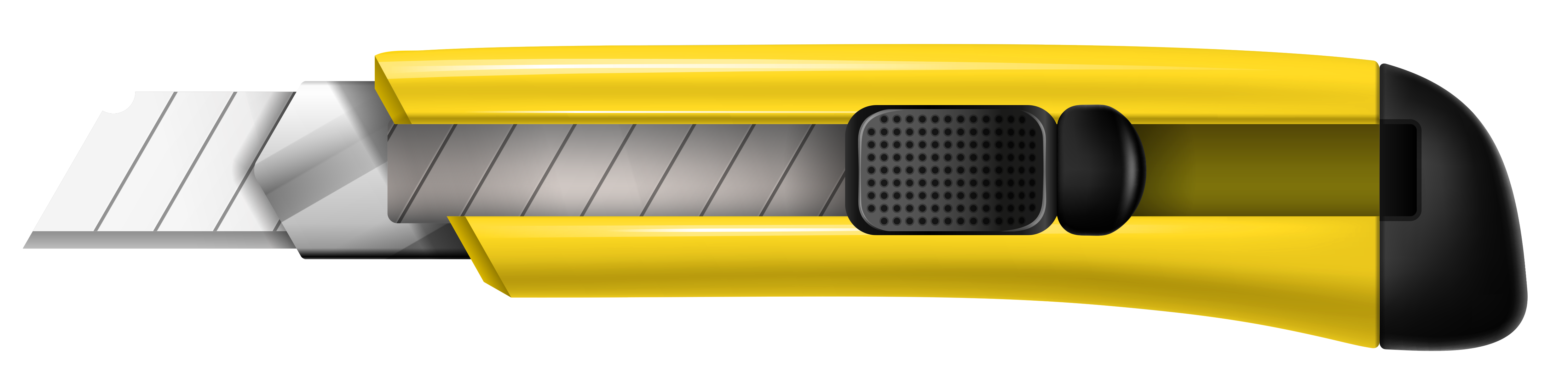 Yellow Cutter PNG Clipart Picture.
