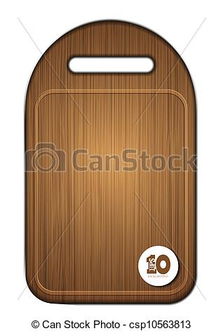 Cutting boards clipart #6