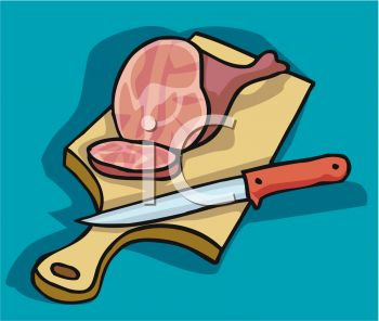 Cutting boards clipart #11