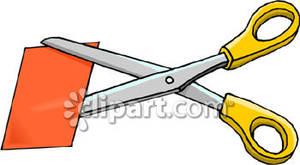 Clip Art Paper Cutting Clipart.