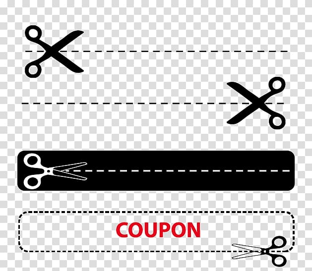 Cutting Scissors Illustration, Scissors dotted line transparent.