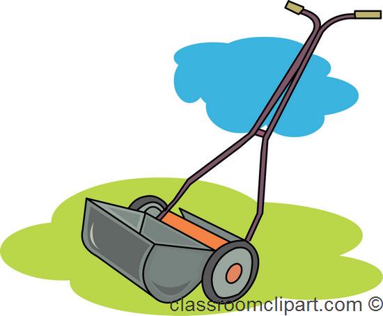 Gardening : grass_cutter_1_712 : Classroom Clipart.