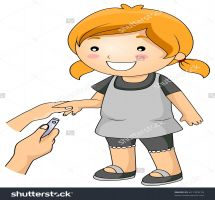 Cutting nails clipart black and white 1 » Clipart Station.