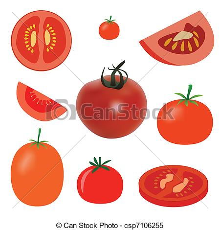 Cutting tomatoes clipart - Clipground