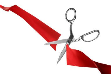 Ribbon Cutting Clipart.