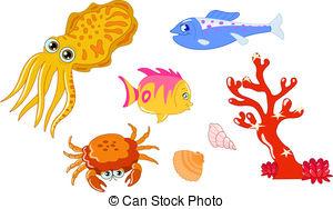Cuttlefish Clipart Vector Graphics. 595 Cuttlefish EPS clip art.