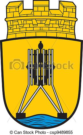Clipart Vector of Cuxhaven city coa.