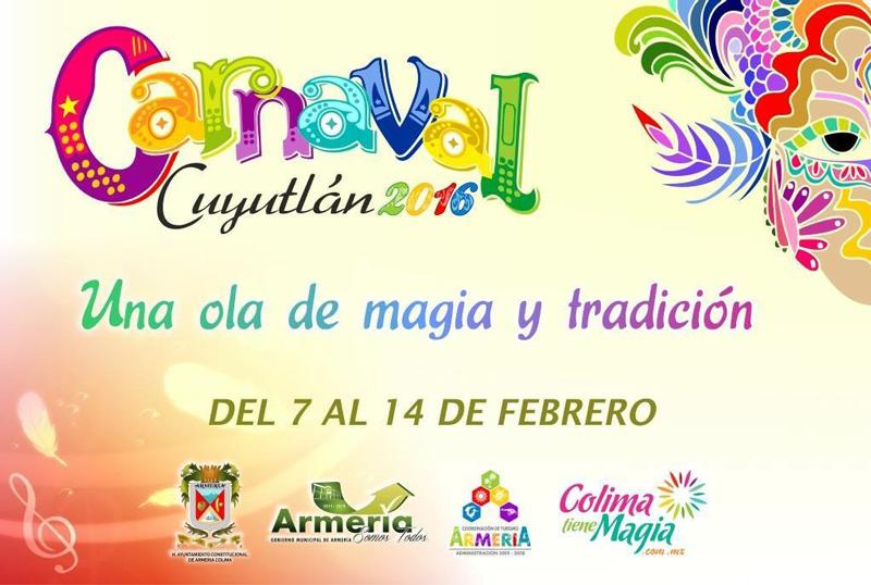 Carnaval de Cuyutlán 2016, inicia este domingo por la noche.