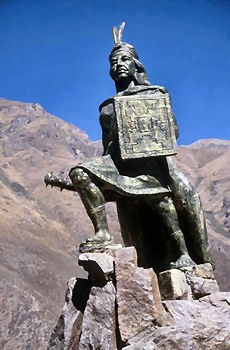 Inca Warrior Clipart.
